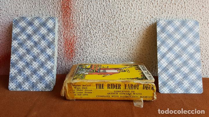 Barajas de cartas: Cartas tarot. The rider tarot deck. The magician. - Foto 4 - 128450027