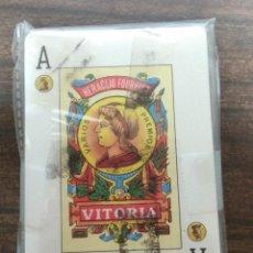 Barajas de cartas: BARAJA DE CARTAS ESPAÑOLA NAIPES DE HERACLIO FOURNIER VITORIA COMPLETA SIN CAJA. Lote 128650575