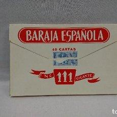 Barajas de cartas: BARAJA ESPAÑOLA GIGANTE 111,HERACLIO FOURNIER . Lote 128664459