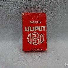 Barajas de cartas: BARAJA DE CARTAS LILIPUT 131,HERACLIO FOURNIER . Lote 128666319