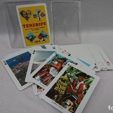 Barajas de cartas: BARAJA DE CARTAS SOUVENIR TENERIFE, COMAS . Lote 128687835