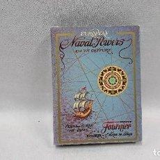 Barajas de cartas: BARAJA DE CARTAS POTENCIAS NAVALES, HERACLIO FOURNIER . Lote 128690927