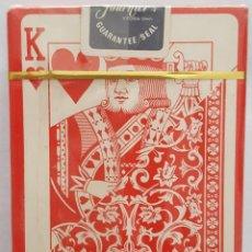 Barajas de cartas: ANTIGUA BARAJA DE CARTAS DE POKER DE HERACLIO FOURNIER 505 NUEVA Y PRECINTADA. Lote 128908735