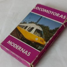 Barajas de cartas: BARAJA DE 33 CARTAS FOURNIER DE LOCOMOTORAS MODERNAS. Lote 128985727
