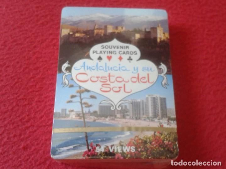 BARAJA DE CARTAS PLAYING CARDS SOUVENIR ANDALUCÍA ANDALUSIA Y SU COSTA DEL SOL 54 VIEWS VER FOTOS (Juguetes y Juegos - Cartas y Naipes - Otras Barajas)