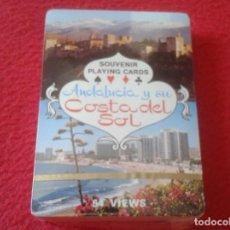 Barajas de cartas: BARAJA DE CARTAS PLAYING CARDS SOUVENIR ANDALUCÍA ANDALUSIA Y SU COSTA DEL SOL 54 VIEWS VER FOTOS. Lote 129004031