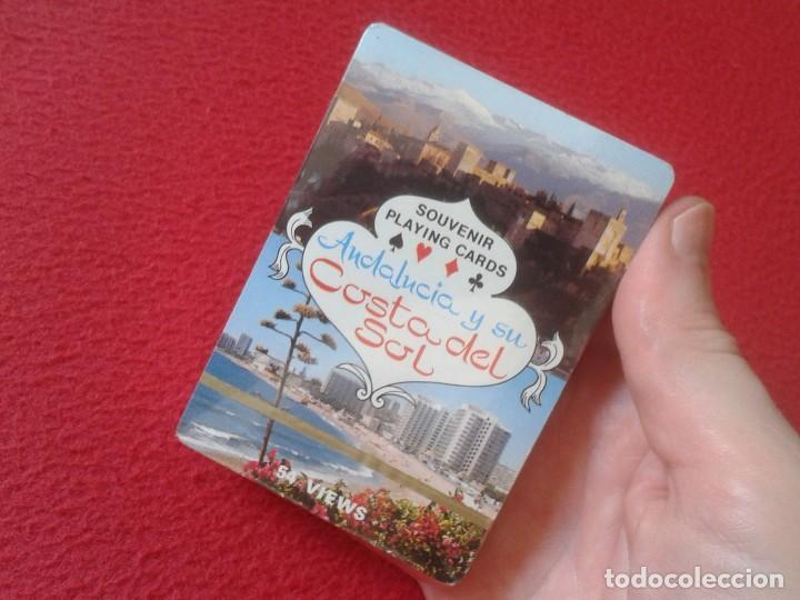 Barajas de cartas: BARAJA DE CARTAS PLAYING CARDS SOUVENIR ANDALUCÍA ANDALUSIA Y SU COSTA DEL SOL 54 VIEWS VER FOTOS - Foto 4 - 129004031