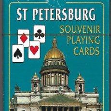 Barajas de cartas: BARAJA DE SAN PETERSBURGO NUEVA PERFECTA. Lote 129055827