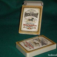 Jeux de cartes: BARAJA DE POKER - OLD HUCKLEBERRY. Lote 129122931