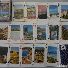 Barajas de cartas: BARAJA DE CARTAS DE PÓKER. CÓRCEGA FRANCIA. CADA NAIPE UNA FOTO POSTAL. 100 GR. Lote 129291863