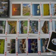Barajas de cartas: BARAJA DE CARTAS DE PÓKER. GLORIOUS ENGLAND INGLATERRA. CADA NAIPE UNA FOTO POSTAL. 110 GR. Lote 129291923