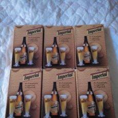Barajas de cartas - lote barajas cerveza imperial poker naipes - 129367939