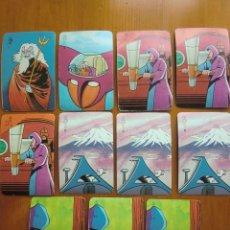 Barajas de cartas: 11 CARTAS MAZINGER Z (1978) DE PIPAS TOSTADERO JEM. Lote 98230835