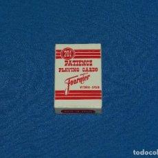 Barajas de cartas: (M) BARAJA DE POKER HERACLIO FOURNIER VITORIA SPAIN 5,5 X 4 CM SEÑALES DE USO. Lote 129650807