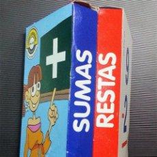 Barajas de cartas: JUEGO DE 2 BARAJAS EDUCATIVAS DE SUMAS Y RESTAS -VARITEMAS ESPAÑA-. Lote 194635542