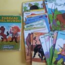 Barajas de cartas: BARAJA DE CARTAS FOURNIER HERACLIO PAREJAS DEL MUNDO. Lote 130085638