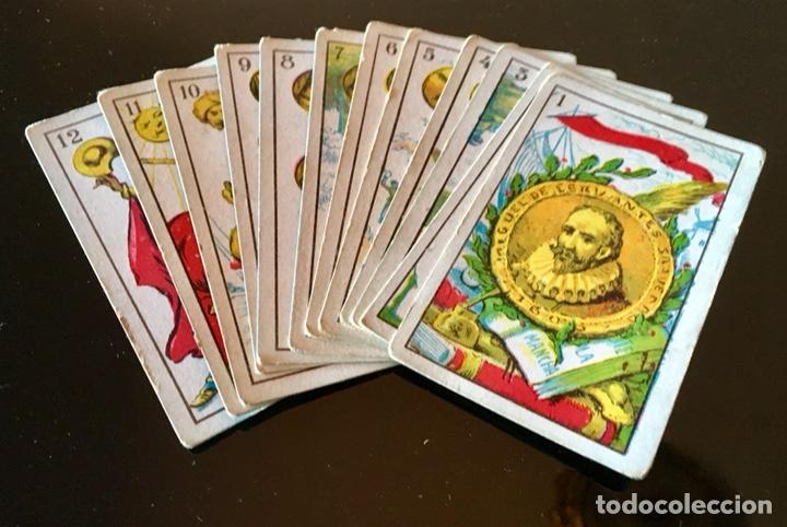 Barajas de cartas: NAIPES ALEGORICOS DON QUIJOTE DE LA MANCHA - Foto 4 - 130504594