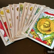 Barajas de cartas: NAIPES ALEGORICOS DON QUIJOTE DE LA MANCHA. Lote 130504594
