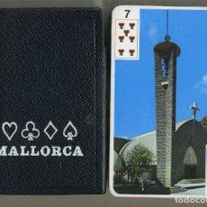 Barajas de cartas: BARAJA CARTAS PIRINEU ROMANIC CATALA PRECINTADAS Y CON ESTUCHE MALLORCA. Lote 130526350