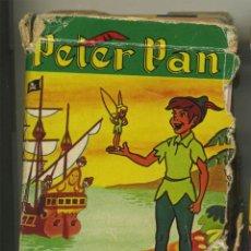 Barajas de cartas: PETER PAN Y LOS PIRATAS BARAJA CARTAS INFANTIL FOURNIER 44 NAIPES . Lote 130552750