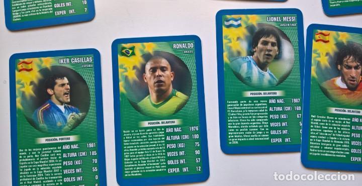 Top Trumps mundial de fútbol de estrellas Card Game Pack