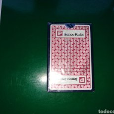 Barajas de cartas: BARAJA DE CARTAS ESPAÑOLA DE HERACLIO FOURNIER. DEL BANCO PASTOR. Lote 130613204