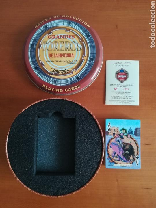 Barajas de cartas: Baraja Fournier Grandes toreros de la historia según Escacena - Caja plaza de toros - Foto 9 - 130617590