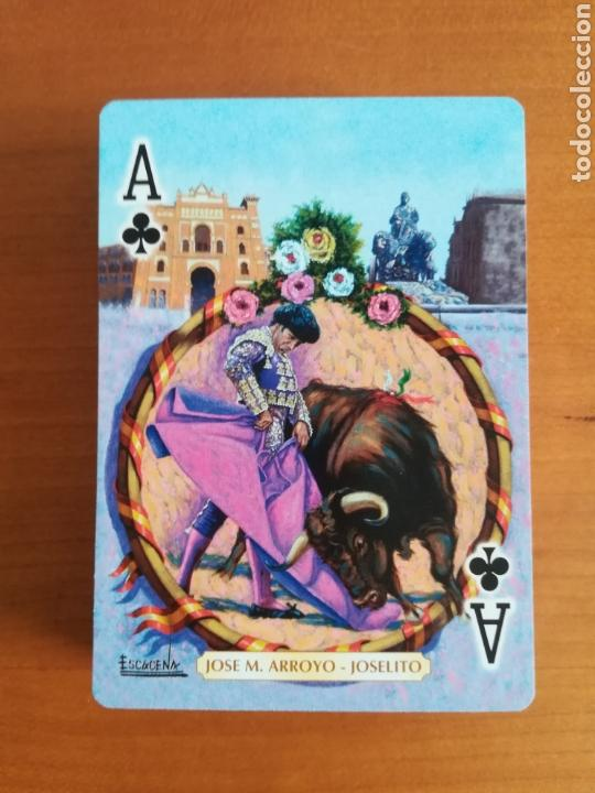 Barajas de cartas: Baraja Fournier Grandes toreros de la historia según Escacena - Caja plaza de toros - Foto 10 - 130617590