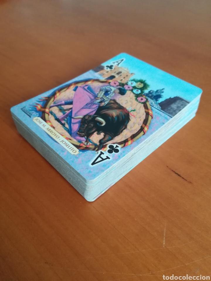 Barajas de cartas: Baraja Fournier Grandes toreros de la historia según Escacena - Caja plaza de toros - Foto 12 - 130617590