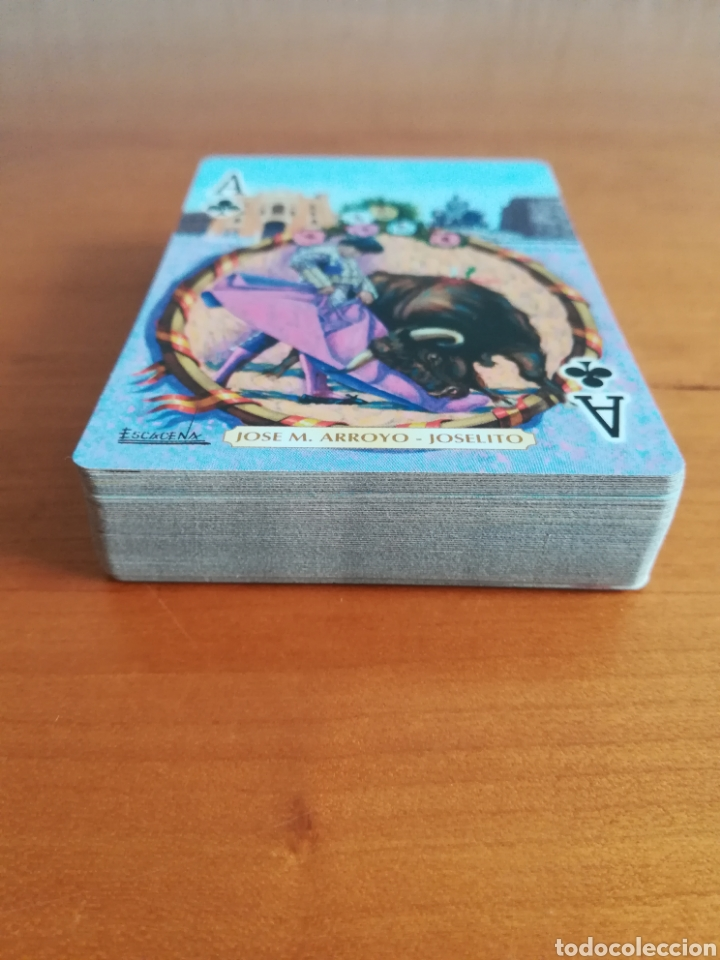 Barajas de cartas: Baraja Fournier Grandes toreros de la historia según Escacena - Caja plaza de toros - Foto 13 - 130617590