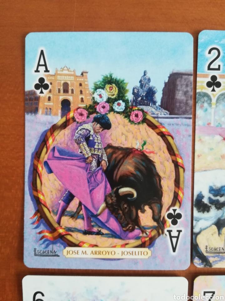 Barajas de cartas: Baraja Fournier Grandes toreros de la historia según Escacena - Caja plaza de toros - Foto 15 - 130617590