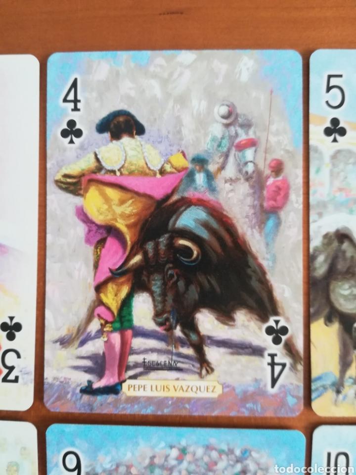 Barajas de cartas: Baraja Fournier Grandes toreros de la historia según Escacena - Caja plaza de toros - Foto 17 - 130617590