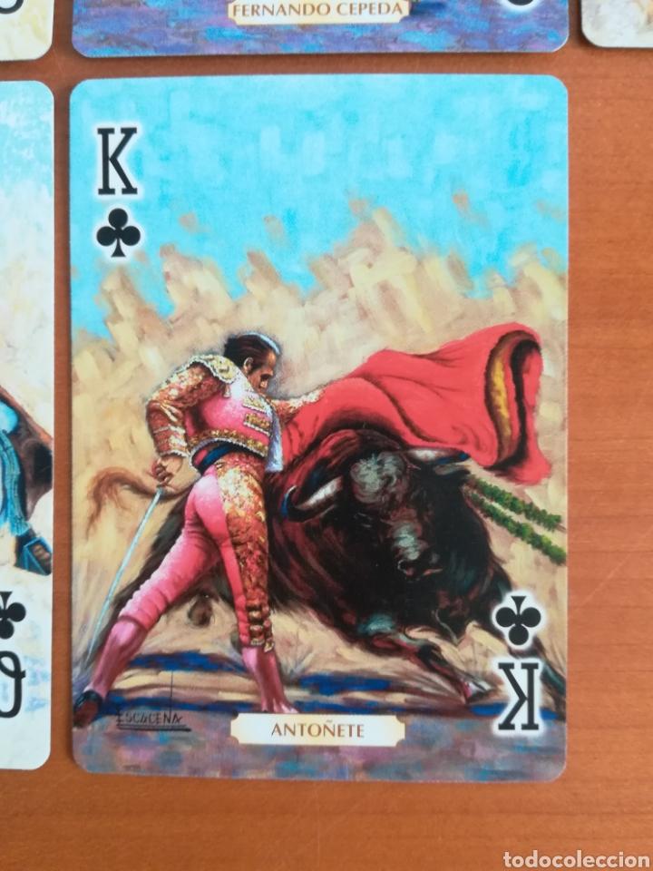 Barajas de cartas: Baraja Fournier Grandes toreros de la historia según Escacena - Caja plaza de toros - Foto 18 - 130617590
