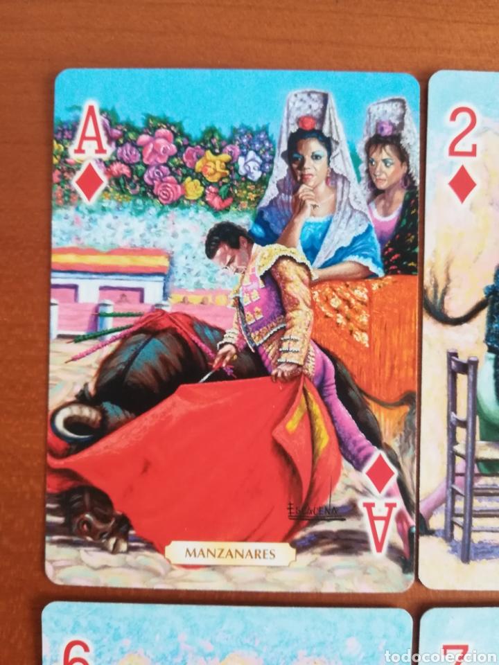 Barajas de cartas: Baraja Fournier Grandes toreros de la historia según Escacena - Caja plaza de toros - Foto 20 - 130617590
