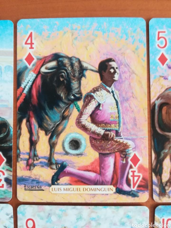 Barajas de cartas: Baraja Fournier Grandes toreros de la historia según Escacena - Caja plaza de toros - Foto 21 - 130617590