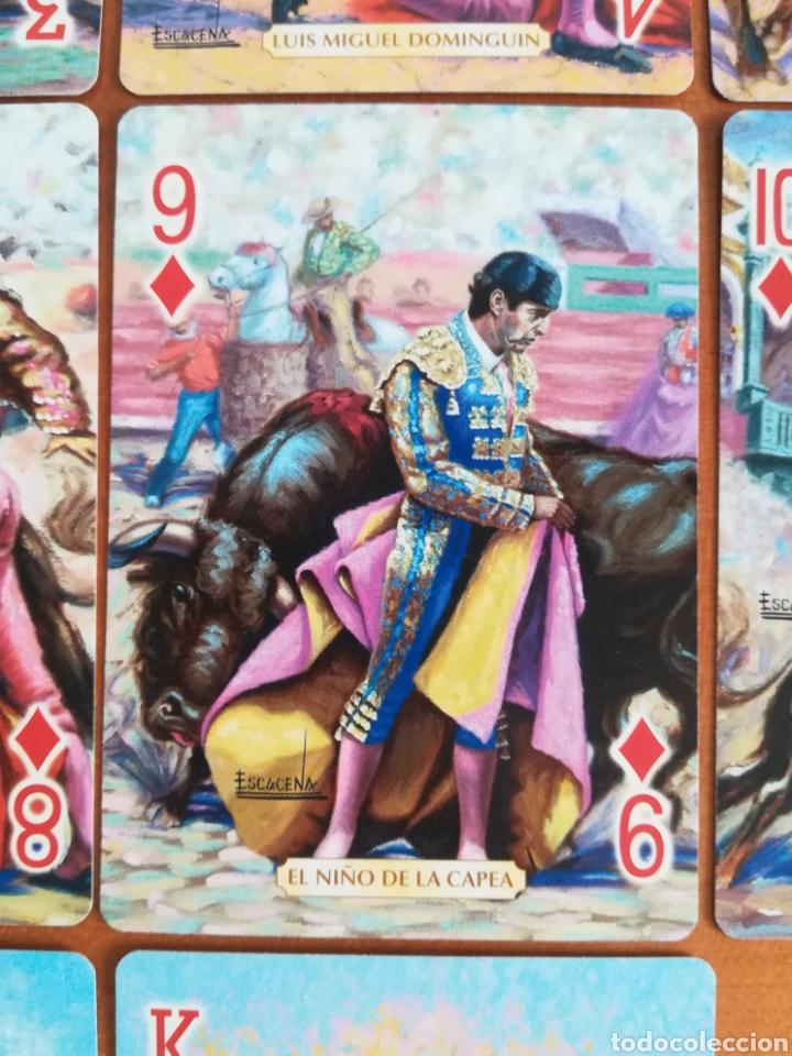 Barajas de cartas: Baraja Fournier Grandes toreros de la historia según Escacena - Caja plaza de toros - Foto 22 - 130617590
