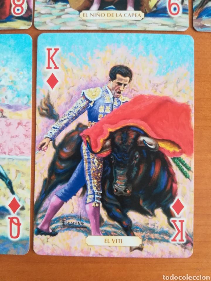 Barajas de cartas: Baraja Fournier Grandes toreros de la historia según Escacena - Caja plaza de toros - Foto 23 - 130617590