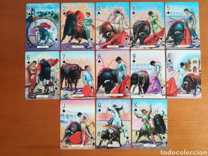 Barajas de cartas: Baraja Fournier Grandes toreros de la historia según Escacena - Caja plaza de toros - Foto 24 - 130617590