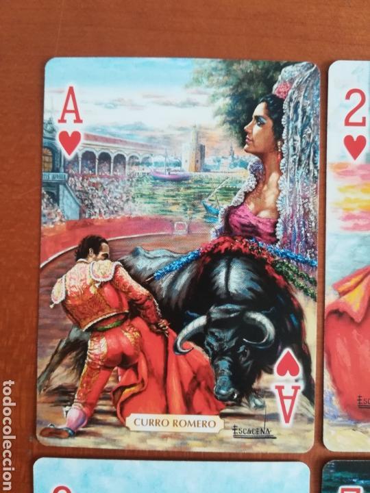 Barajas de cartas: Baraja Fournier Grandes toreros de la historia según Escacena - Caja plaza de toros - Foto 31 - 130617590