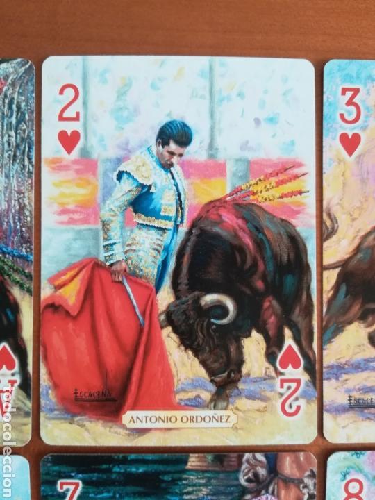 Barajas de cartas: Baraja Fournier Grandes toreros de la historia según Escacena - Caja plaza de toros - Foto 32 - 130617590