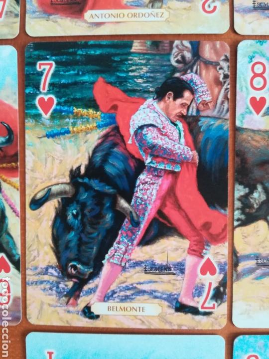 Barajas de cartas: Baraja Fournier Grandes toreros de la historia según Escacena - Caja plaza de toros - Foto 33 - 130617590