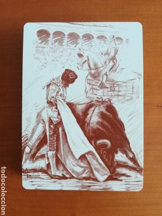 Barajas de cartas: Baraja Fournier Grandes toreros de la historia según Escacena - Caja plaza de toros - Foto 36 - 130617590