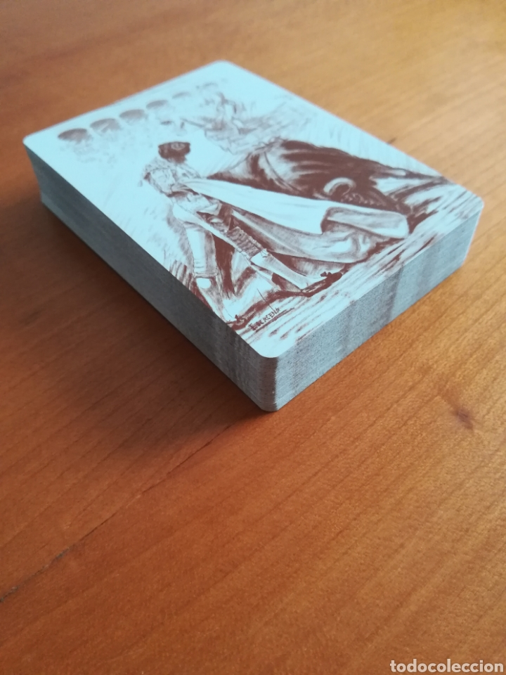 Barajas de cartas: Baraja Fournier Grandes toreros de la historia según Escacena - Caja plaza de toros - Foto 38 - 130617590