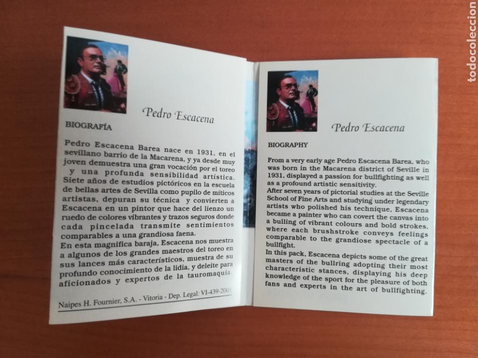 Barajas de cartas: Baraja Fournier Grandes toreros de la historia según Escacena - Caja plaza de toros - Foto 42 - 130617590