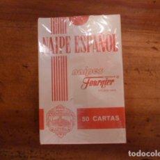 Barajas de cartas: BARAJA CARTAS NAIPE ESPAÑOL. PUBLICIDAD SAN MIGUEL. FOURNIER. Lote 130808108
