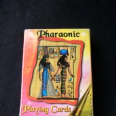 Barajas de cartas: CARTAS DE POKER DE FARAONES PHARAONIC PLAYING CARDS. EGIPTO . Lote 130821468