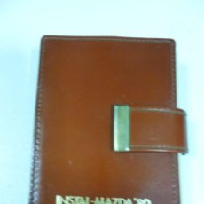 Barajas de cartas: BARAJA PUBLICIDAD INSTAL MAZDA 80 EN CARTERA IMITACIÓN A PIEL. Lote 130928984