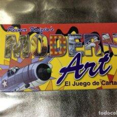 Barajas de cartas: JUEGO DE CARTAS MODERN ART. Lote 130935024