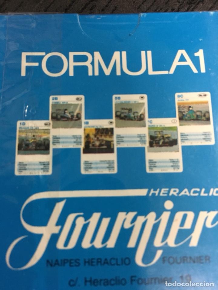 Barajas de cartas: Baraja cartas formula 1 coches cuartetos Técnicos,cartas de coches, Heraclio fournier - Foto 3 - 130943157