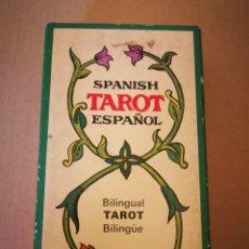 Barajas de cartas: BARAJA DE TAROT ESPAÑOL. Lote 131615586